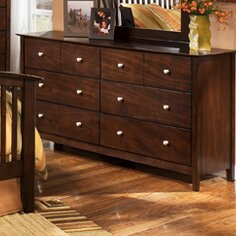 Darby Home Co Bascomb 8 Drawer Double Dre..