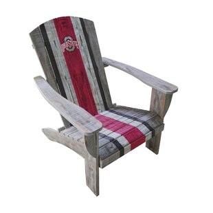 NCAA Wood Adirondack Chair