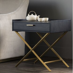 Sunpan Modern Irongate End Table