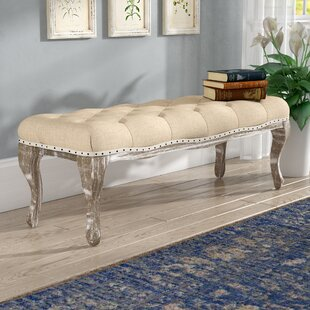Toulouse Wood Bench by Lark Manor