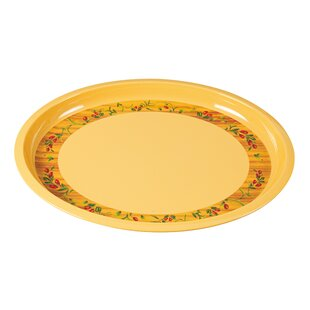 Old Lyme Turkey Melamine Platter (Set of 6)