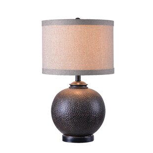 Buy clear Wellington 22.38 Bedside Table Lamp By World Menagerie