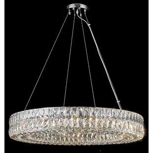 Sibdon 16-Light Crystal Chandelier by Rosdorf Park