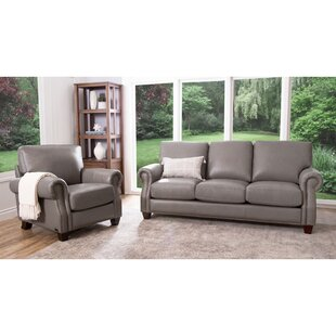 Shopping for Cairnbrook 2 Piece Leather Living Room Set by Darby Home Co Reviews (2019) & Buyer's Guide