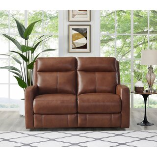 Amasia Leather Reclining Loveseat by Winston Porter SKU:AA619704 Shop