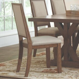 Wetzel Smooth Back Upholstered Dining Chair (Set of 2) by Ophelia & Co.