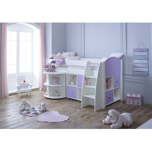 Cypress 90 X 200cm Mid Sleeper With Drawers & Desk By Isabelle & Max