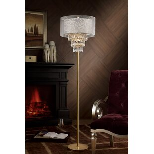 Read Reviews Lagrone 67 Floor Lamp By House of Hampton