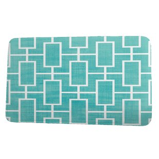 Leija Screen Lattice Bath Rug