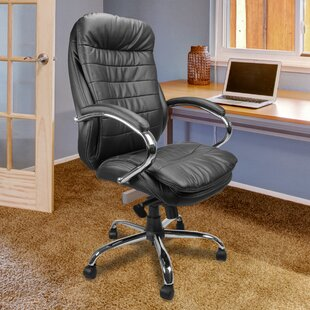 Hinton High-Back Executive Chair With Lumbar Support By Ebern Designs
