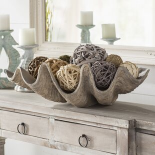 Clam Shell Decorative Bowl