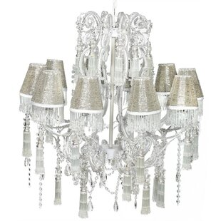 ESSENTIAL DÉCOR & BEYOND, INC 10-Light Shaded Chandelier
