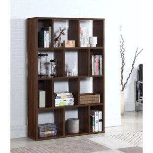 Tillis Geometric Bookcase by Wrought Studio