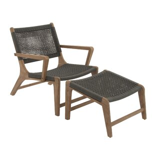 Woodland Imports Chair with Footrest