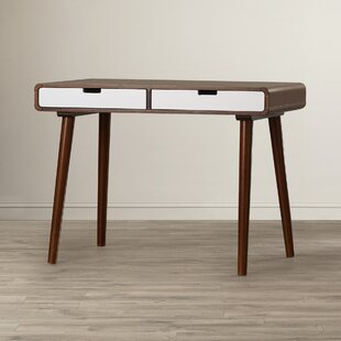 Solid Wood Writing Desk by Langley Street