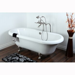 Kingston Brass Aqua Eden Soaking Bathtub