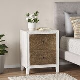 Palmer 2 Drawer Nightstand by One Allium Way®