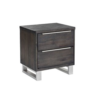 Rhodes 2 Drawer Nightstand
