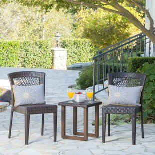 Manus 3 Piece Rattan Conversation Set
