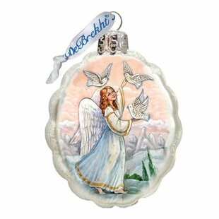 Doves Angel Shaped Ornament by The Holiday Aisle