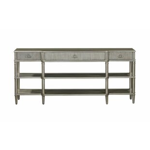 Inlet Breakfront Console Table