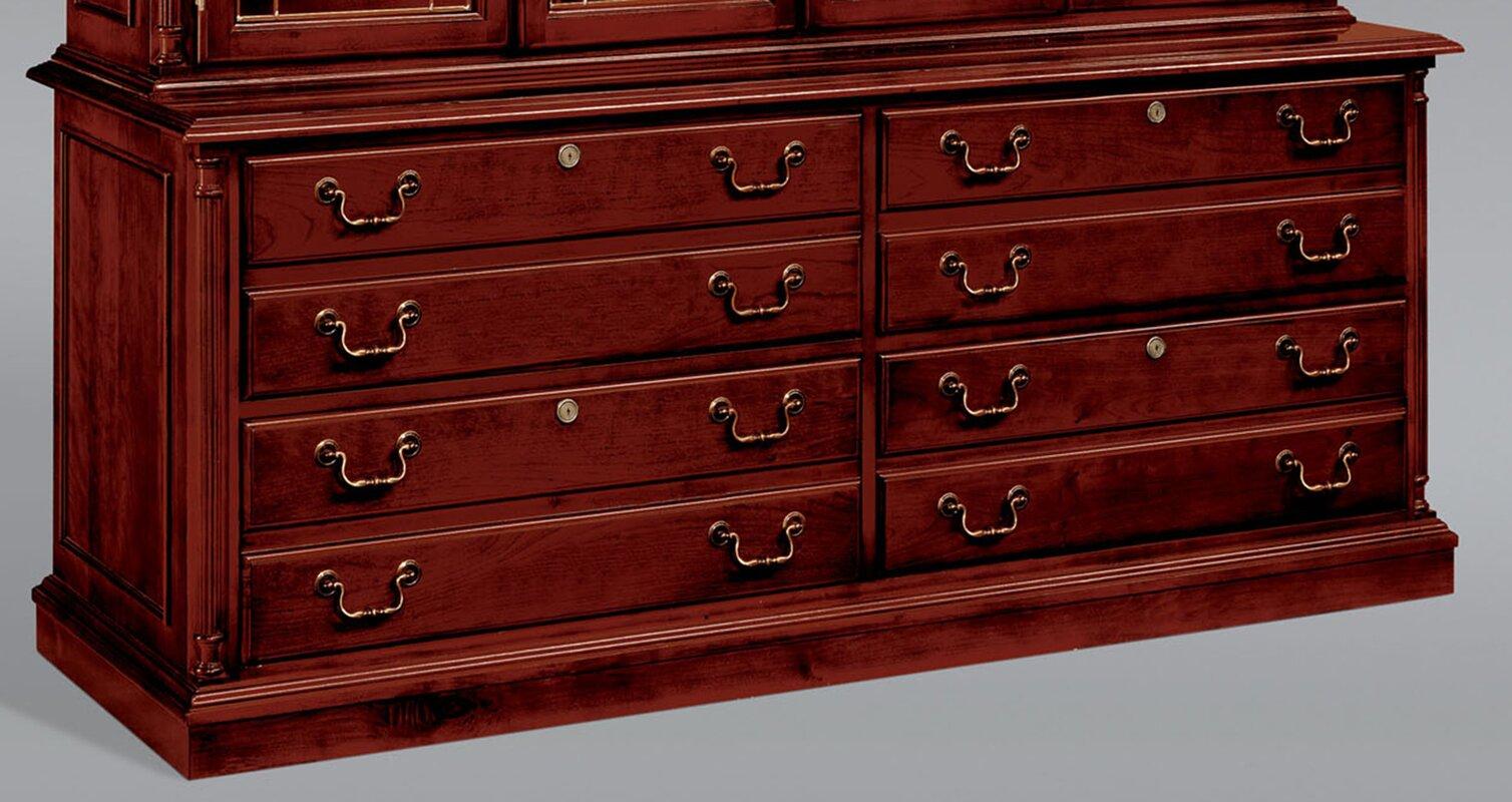 Prestbury 8-Drawer Lateral File Credenza Cabinet