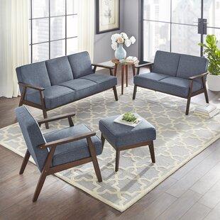 Berthiaume 3 Piece Living Room Set by Brayden Studio
