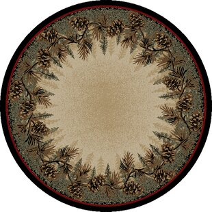 American Destinations Beige/Green Area Rug by Mayberry Rug