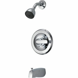 Delta Classic Thermostatic Tub and Shower Faucet with Valve, Trim and Monitor