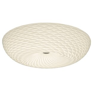 Varaluz Swirled 3-Light Flush ..
