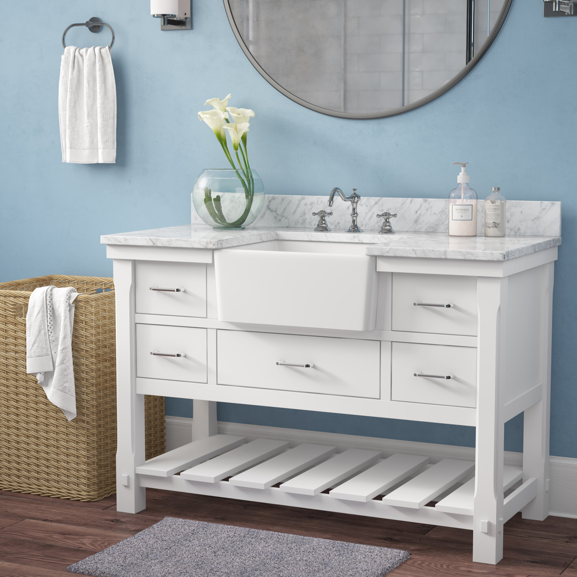 Breakwater Bay Altus 48 Single Bathroom Vanity Set Reviews Wayfair