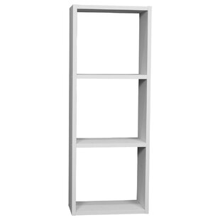 Cerralvo 3-Shelf Cube Storage Stackable Standard Bookcase