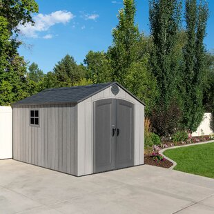 8 Ft. W X 13 Ft. D Apex Plastic Shed By Lifetime