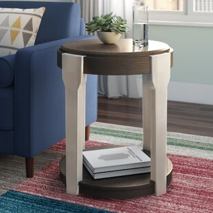Buy clear Lorenz End Table by Wrought Studio