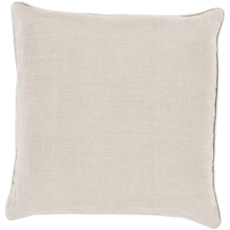 Alienor Linen Throw Pillow Cover