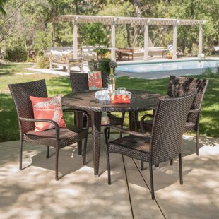 Straker 5 Piece Dining Set