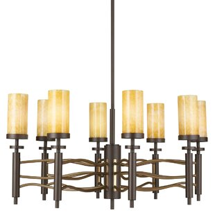 Loon Peak Pharris 8-Light Shaded Chandelier