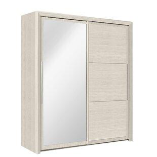 Kimber 2 Door Sliding Wardrobe By 17 Stories