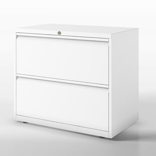 Essentials 2 Drawer Filing Cabinet By Bisley