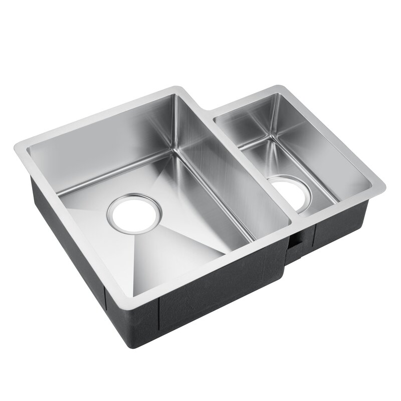 Fennel 24 X 19 Double Basin Undermount Kitchen Sink