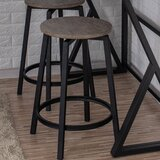 Coyotepe Royal Mahogany 30 Bar Stool by Masaya & Co