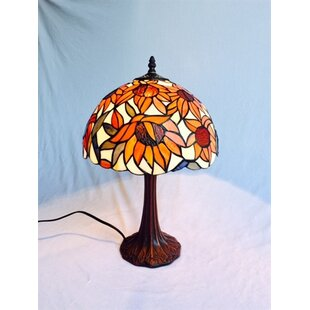 August Grove Crosbie Sunflower Tiffany 18