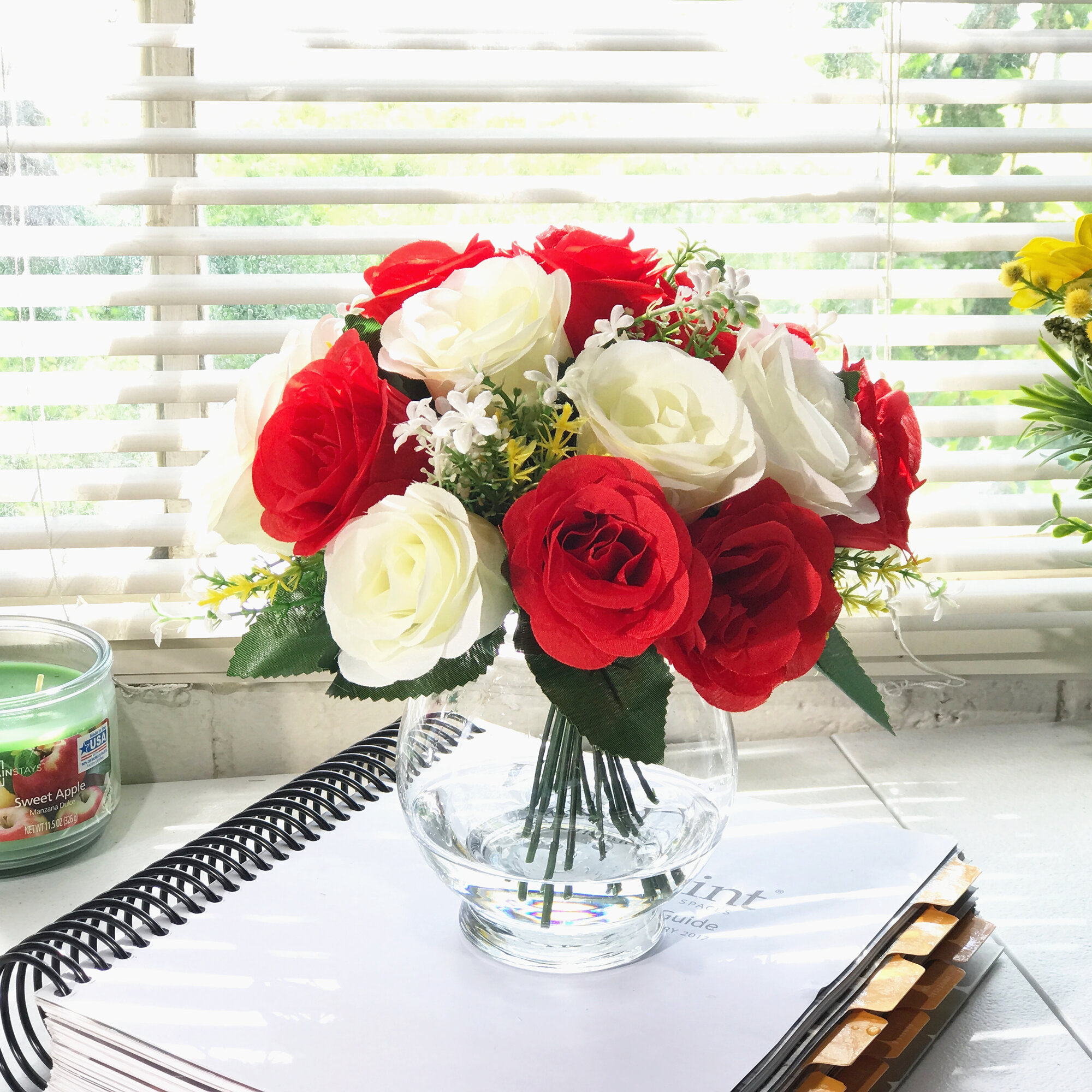 Floral Arrangements Red Faux Flowers You Ll Love In 2021 Wayfair