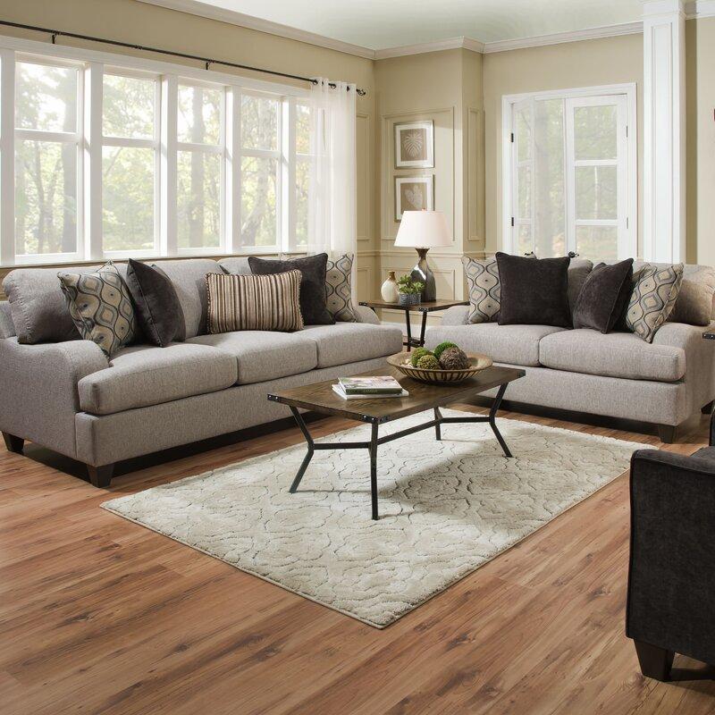 living rooms sets. Hattiesburg Configurable Living Room Set Three Posts  Reviews