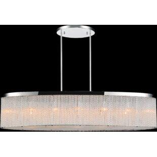 CWI Lighting 7- Light LED Chandelier