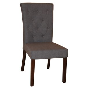Aaron Upholstered Dining Chair (Set of 2) Taran Designs