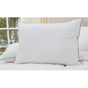 Scallop Quilted Down Alternative Pillow
