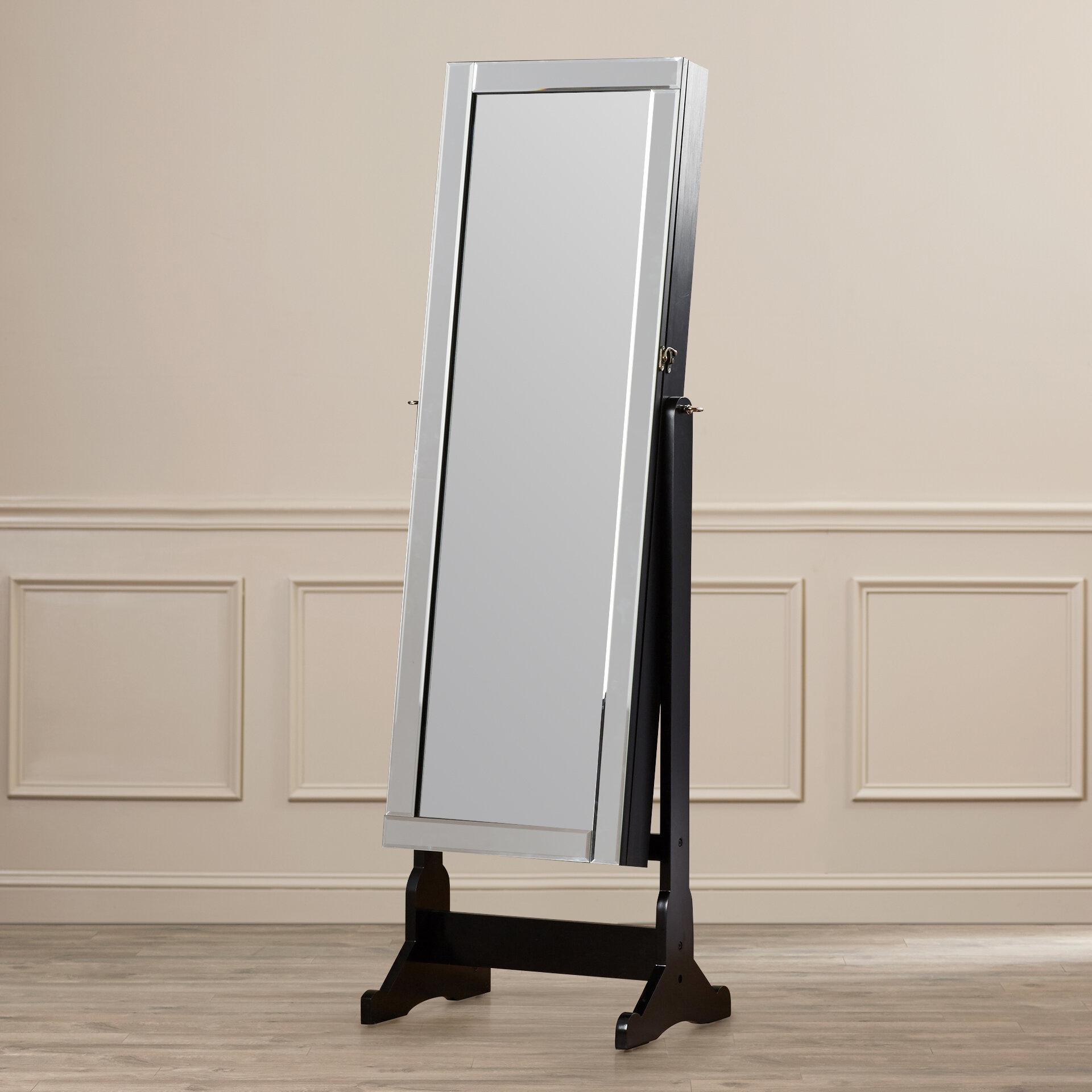 Willa Arlo Interiors Bristol Rectangle Cheval Mirror & Reviews   Wayfair