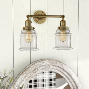 Greeley 2-Light Vanity Light by Laurel Foundry Modern Farmhouse