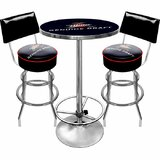 Ultimate Miller Genuine Draft 3 Piece Pub Table Set by Trademark Global